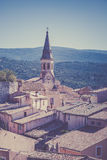 View of Saint Saturnin d Apt, Provence, France Royalty Free Stock Photo