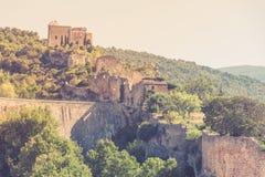 View of Saint Saturnin les Apt, Provence, France Royalty Free Stock Image