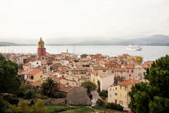 View of Saint Tropez Royalty Free Stock Photography