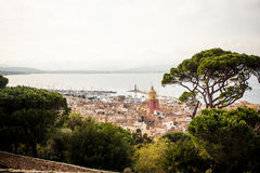 View of Saint Tropez Stock Photo