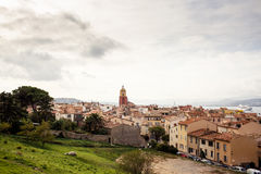 View of Saint Tropez Stock Photography