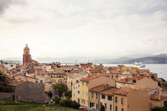 View of Saint Tropez Stock Image