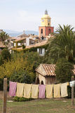 View of Saint-Tropez, France Stock Images