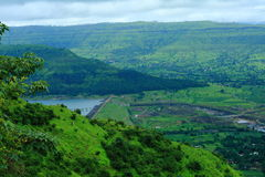 View from Sajjangad Fort-II Stock Image