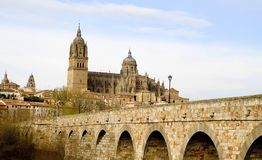View of Salamanca Stock Images