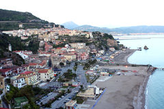 View of Salerno Italy Stock Photo