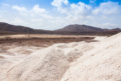 View of Salinas  in Sal Cape Verde - Cabo Verde Islands Stock Photos