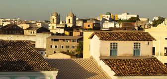 View on Salvador de Bahia's roofs Stock Photo