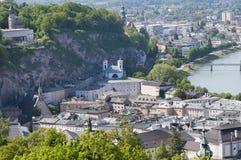 View at Salzburg Stock Photo