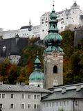 View of Salzburg, Austria Stock Image