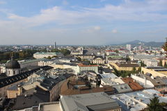 View of Salzburg Royalty Free Stock Image