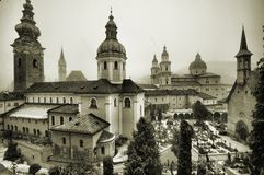 View of Salzburg - HDR Royalty Free Stock Images