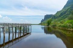 View Sam Roi Yod National Park Prachuap Khiri Khan Province Stock Images