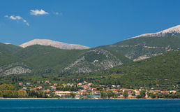 View at Sami, Kefalonia Greece. Royalty Free Stock Images