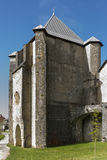 View of the San Agustín Chapel. Roncesvalles. Spain. Stock Image