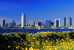 View of San Diego Stock Photography