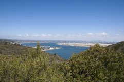 View of San Diego Royalty Free Stock Photos