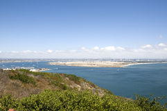 View of San Diego royalty free stock image