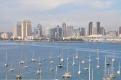 View of San Diego from Coronado Island Royalty Free Stock Photos