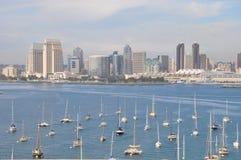 View of San Diego from Coronado Island Royalty Free Stock Photos
