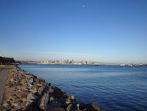 View of the San Diego skyline Stock Photography