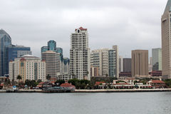 A view of the San Diego skyline Royalty Free Stock Image