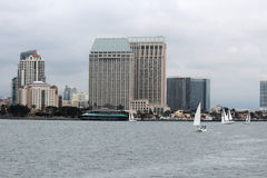 A view of the San Diego skyline Royalty Free Stock Photo