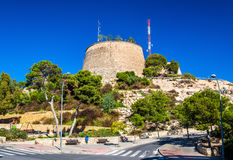 View of San Fernando Castle in Alicante, Spain Stock Photography