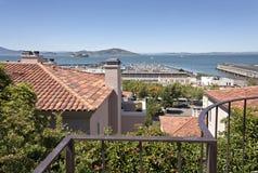 View of San Francisco bay California. Stock Images