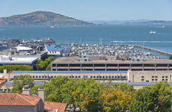 View of San Francisco bay California. Stock Photo