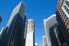 View of San Francisco buildings Royalty Free Stock Image