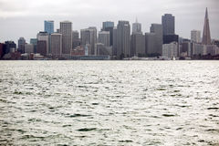 View of San Francisco buildings Royalty Free Stock Images