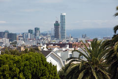 View of San Francisco buildings Royalty Free Stock Photography
