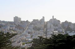 View of San Francisco city Royalty Free Stock Photo