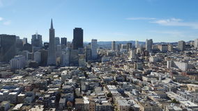 View of San Francisco City, California, USA Royalty Free Stock Photos