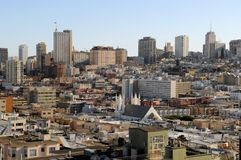 View of San Francisco Downtown 3 Stock Photos