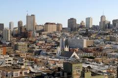 View of San Francisco Downtown 3. San Francisco Downtown Skyline view Stock Photos