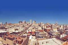 View of San Francisco, USA Stock Photos
