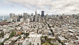 View of San Francisco, USA Royalty Free Stock Photography