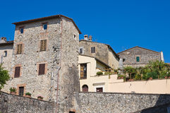 View of San Gemini. Umbria. Italy. Royalty Free Stock Photo