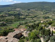 View of San Gimignano Royalty Free Stock Photography