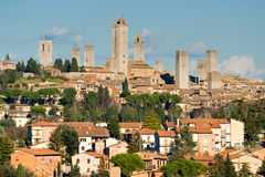 View of san gimignano, Tuscany, Italy. Stock Photos