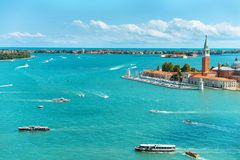 View of San Giorgio island Stock Photo