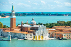 View of San Giorgio island Royalty Free Stock Images