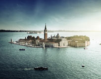 View of San Giorgio island, Venice Stock Image