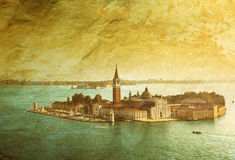 View of San Giorgio island, Venice Stock Photos