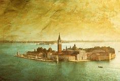 View of San Giorgio island, Venice Stock Photos