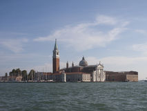 View of San Giorgio island, Venice. Italy Royalty Free Stock Photography