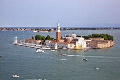 View of San Giorgio island Royalty Free Stock Photo