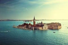 View of San Giorgio island, Venice, Italy Stock Photography